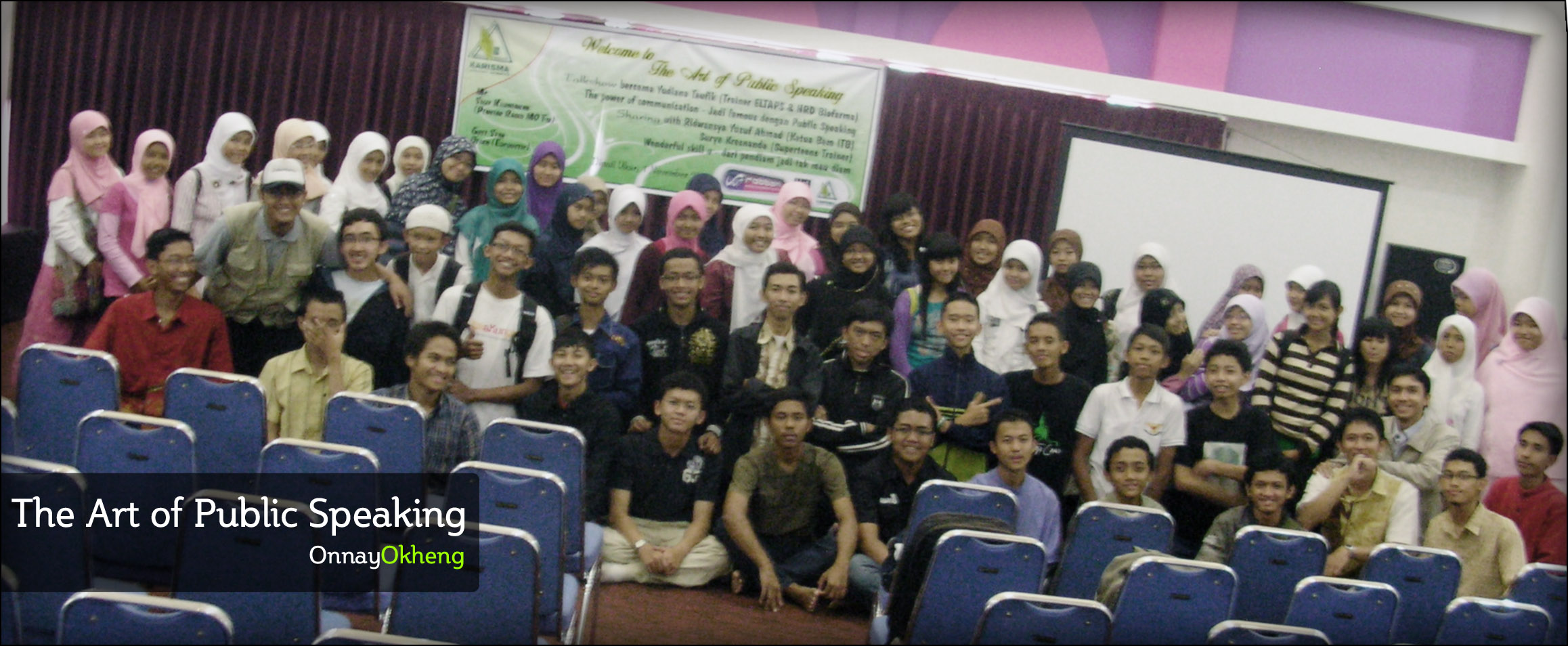 Peserta The Art of Public Speaking